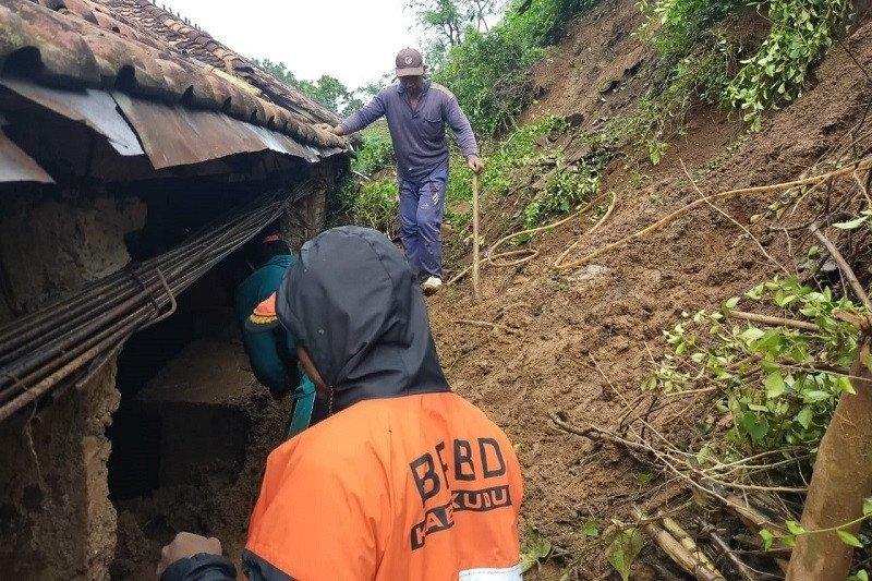 Enam desa di Kabupaten Kudus dilanda longsor