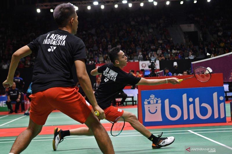 Fajar/Rian tantang The Dadies di semi final