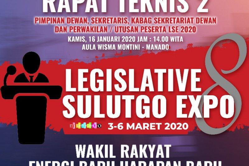 Legislative Sulutgo Expo Tahun 2020- Rapat Teknis
