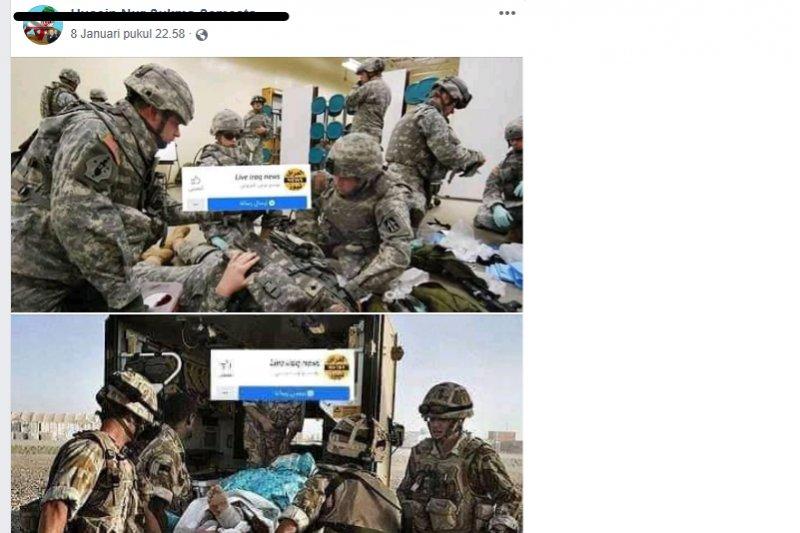 50 tentara AS gegar otak parah pascaserangan Iran