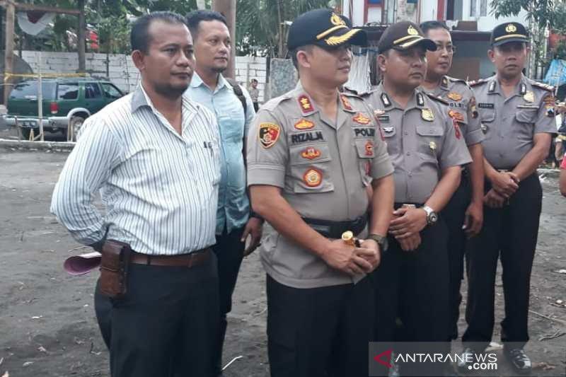 Polisi olah TKP kasus Keraton Agung Sejagat