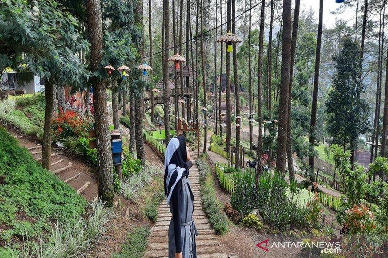 Objek wisata The Lawu Park tawarkan rekreasi wahana permainan dan penginapan