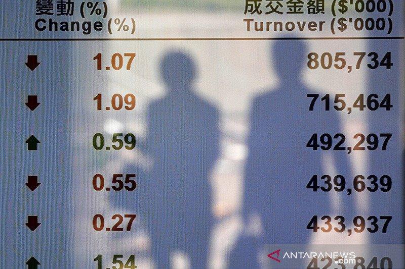 Saham di Bursa Hong Kong dibuka 1,45 persen lebih tinggi