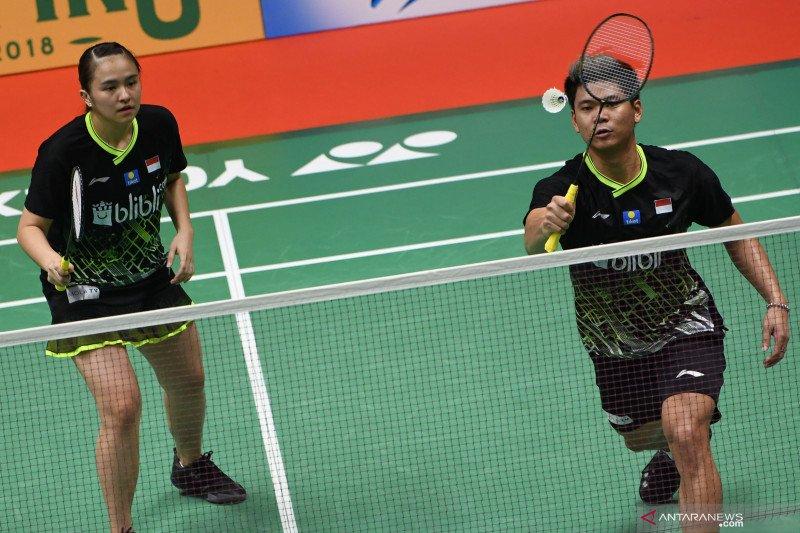 Praveen/Melati takluk kepada Gicquel/Delrue di Indonesia Masters 2020