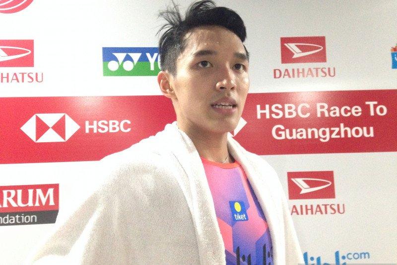 Jojo mewaspadai kecepatan Wang pada babak kedua Indonesia Masters