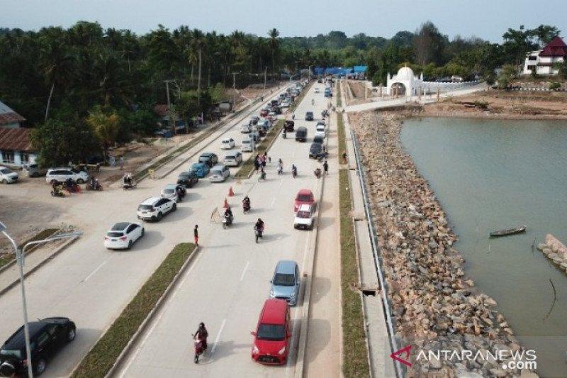 Proyek jalan wisata Toronipa Konawe-Kendari dilanjutkan Maret