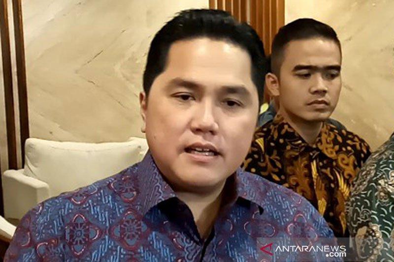 Erick Thohir: Masalah Garuda yakni  bisnis dan proteksi ketenagakerjaan