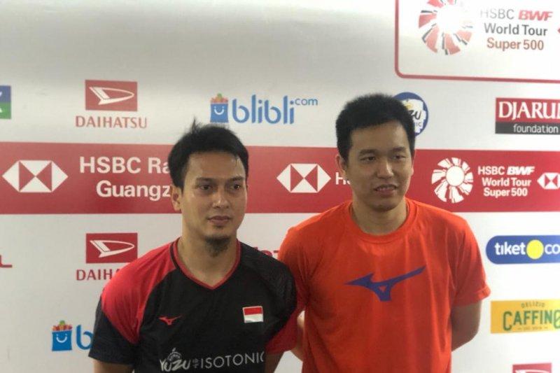 Mental juara The Daddies  antar ke semifinal Indonesia Masters 2020