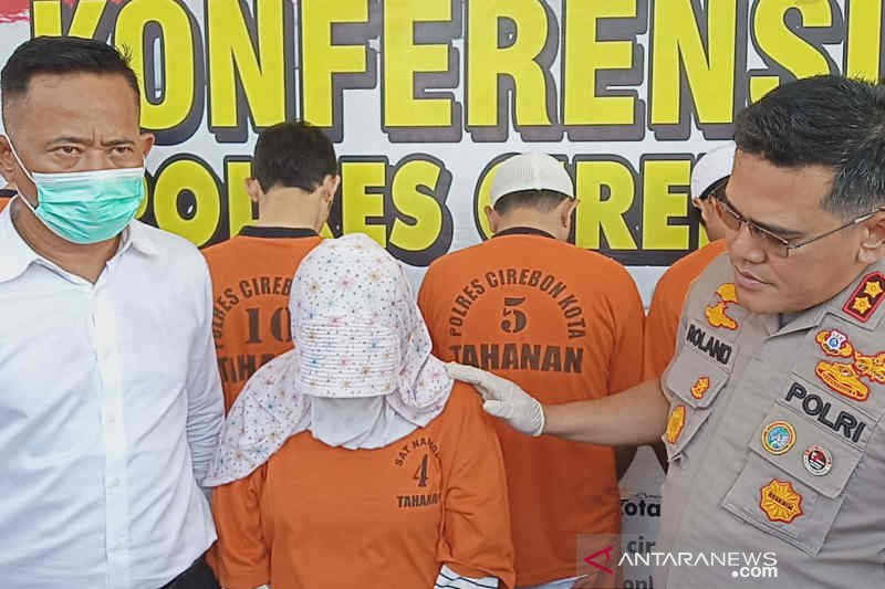 Pengedar narkoba termasuk wanita hamil dibekuk polisi Cirebon Kota