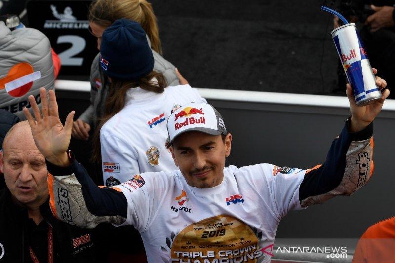 Lorenzo, Max Biaggi dan Anderson siap dinobatkan sebagai legenda MotoGP