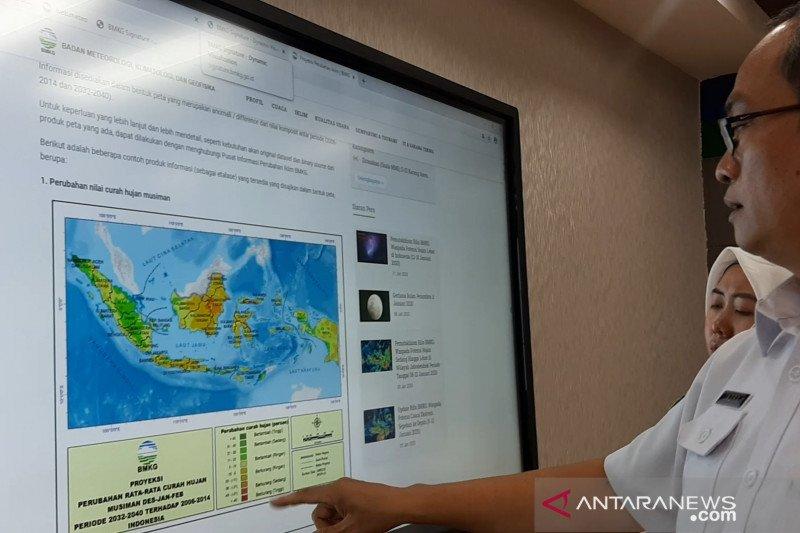 BMKG prediksi kenaikan curah hujan ekstrem pada 2032-2040