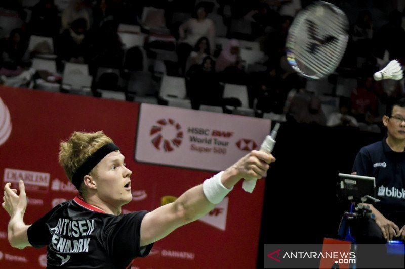 Antonsen melaju ke final Denmark Open 2020
