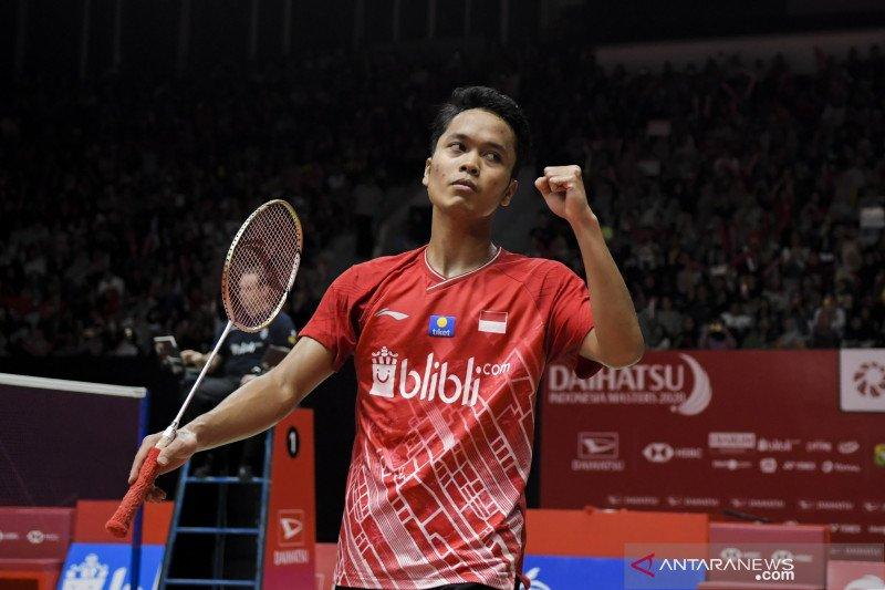 Anthony Ginting juara tunggal putra Indonesia Masters 2020