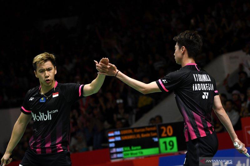 Minions Kevin/Markus berharap terbaik hadapi Malaysia di babak final