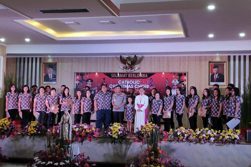 Chatolic Christmas Choir Kapolda Sulut Sukses Digelar