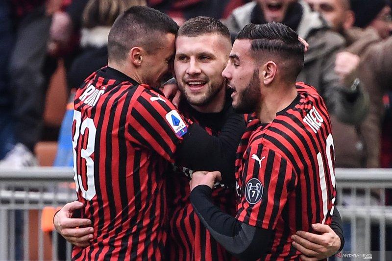 Rebic torehkan dwigol  untuk bantu Milan menang 3-2 atas Udinese