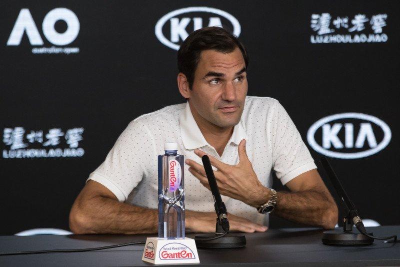 Federer siap ayunkan langkah pertama Australian Open