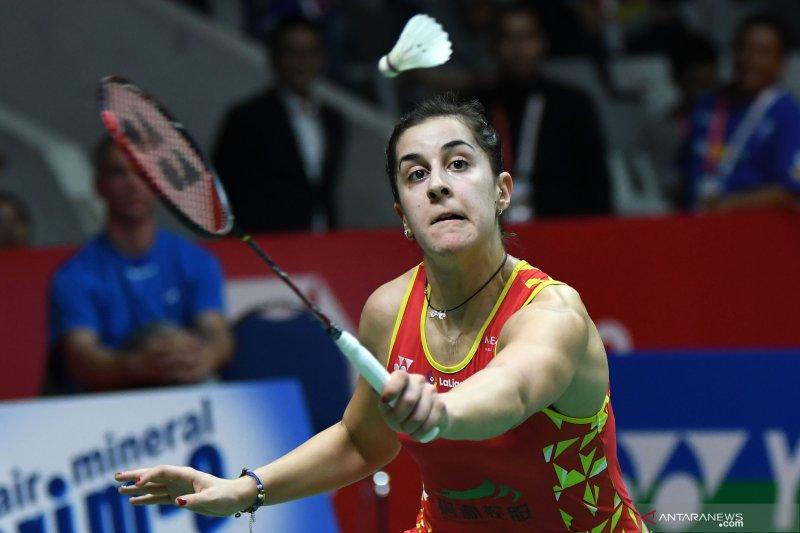 Carolina Marin urung tampil di Olimpiade Tokyo karena cedera
