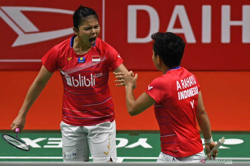 Greysia/Apriyani akui bangga dan bersyukur juarai Thailand Open 2021