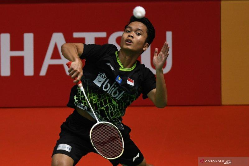 Anthony catatkan kemenangan  pertama bagi Indonesia