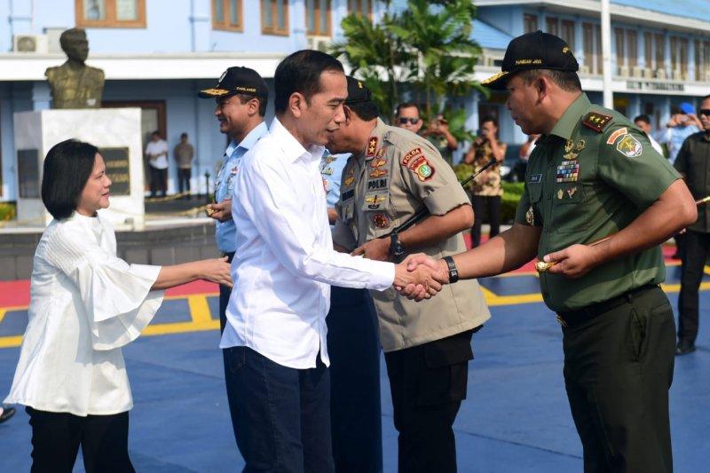 Presiden dan Ibu Negara kunjungan kerja ke Labuan Bajo NTT