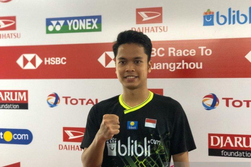 Raih gelar juara tunggal putra Indonesia Masters 2020, Anthony Ginting terharu