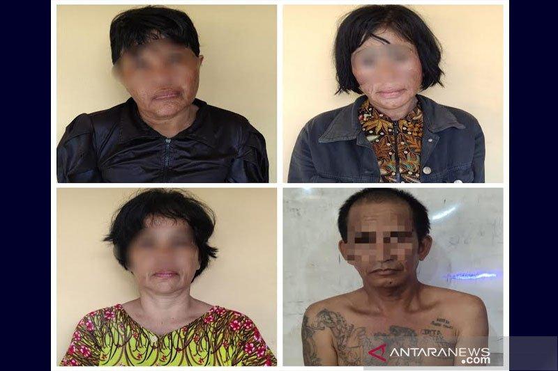 Empat pelaku gendam di Masjid Jami ditangkap
