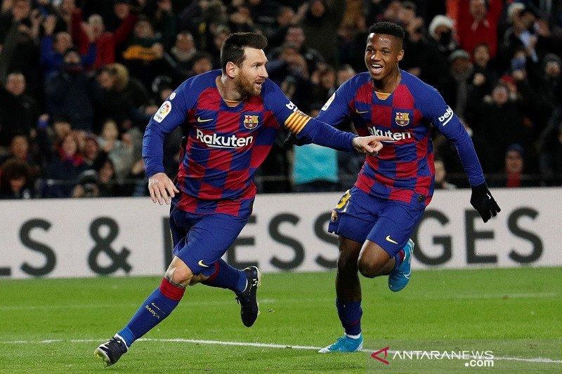 Barca kembali puncaki klasemen sementara Liga Spanyol