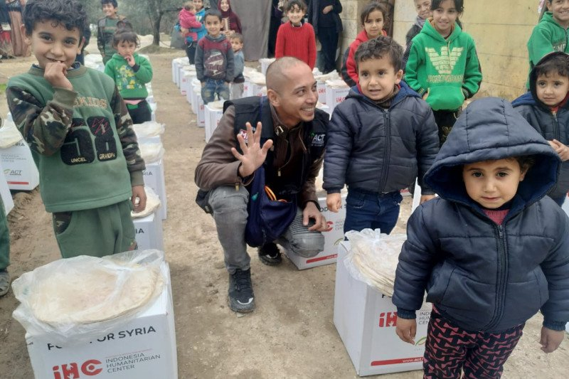 ACT tetap kirim bantuan untuk pengungsi Suriah