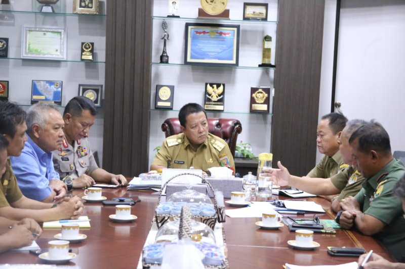 Gubernur Arinal gagas bangun Suaka Rhino Sumatera di TNBBS