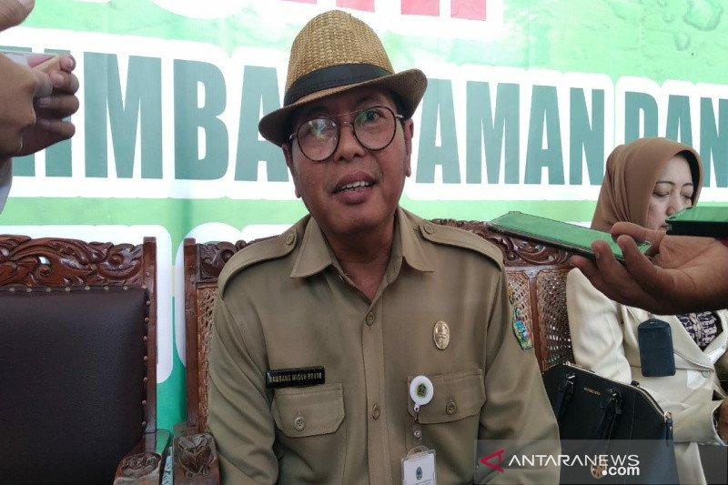 Gunung Kidul vaksin 11.616  ternak di kecamatan terpapar antraks