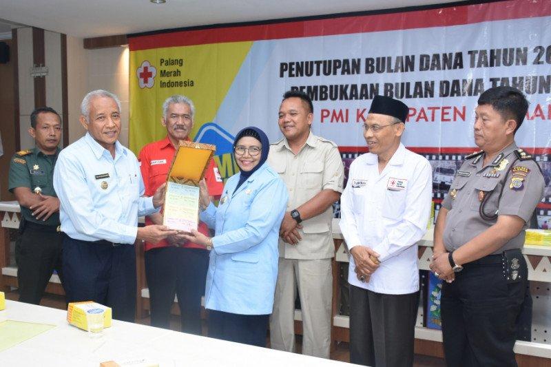 Bulan Dana PMI Sleman 2019 berhasil menggalang dana Rp1,5 miliar lebih