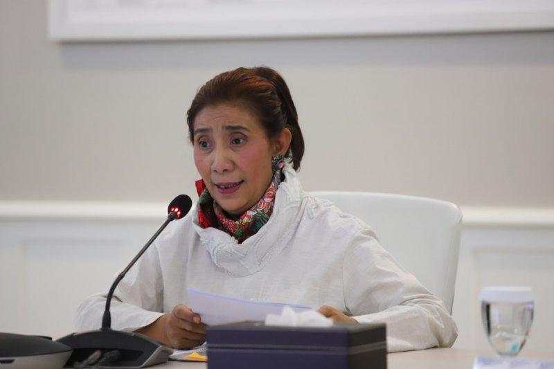 Susi Pudjiastuti tegaskan politisi harus atasi sengketa Natuna