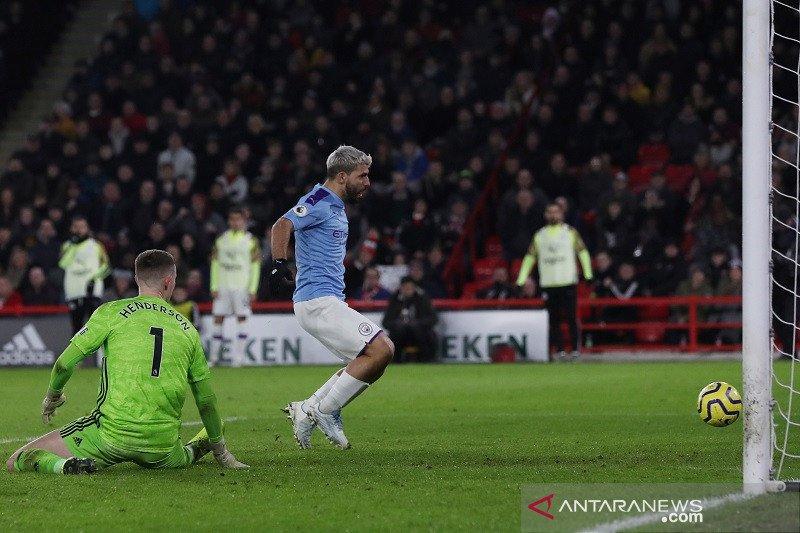 Manchester City tundukkan Sheffield United 1-0