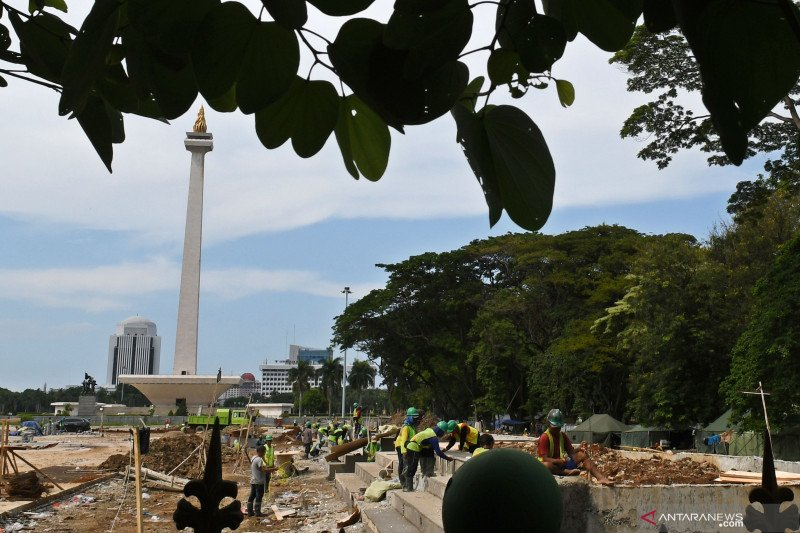 Sekda DKI Jakarta: Monas belum pernah diresmikan presiden