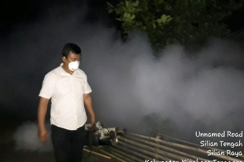 Dinkes Minahasa Tenggara mulai laksanakan fogging