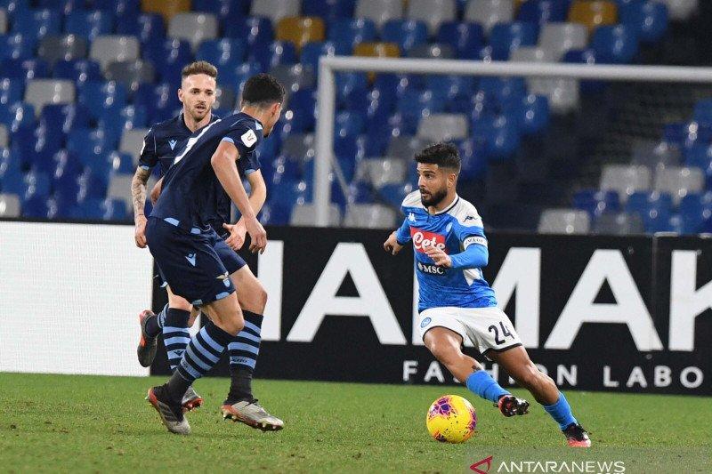 Dramatis, Napoli singkirkan Lazio dari Piala Italia