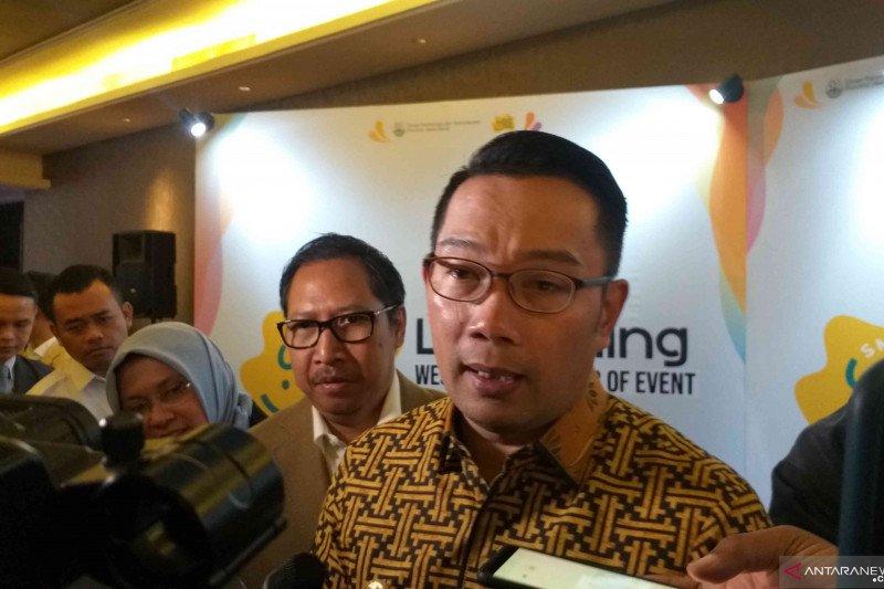 Ridwan Kamil sebut 60 juta wisatawan kunjungi Jabar selama 2019
