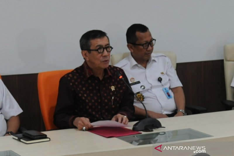 Menkumham enggan jelaskan soal Harun Masiku yang  sudah di Indonesia