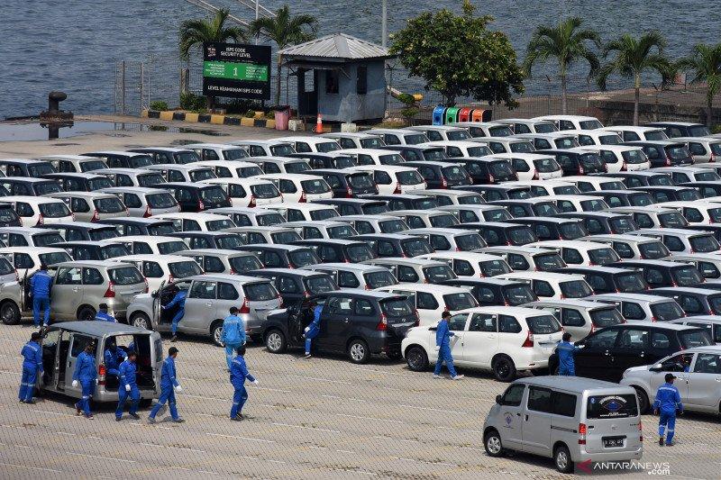 332 ribu mobil berbagai merek buatan Indonesia dikirim ke luar negeri