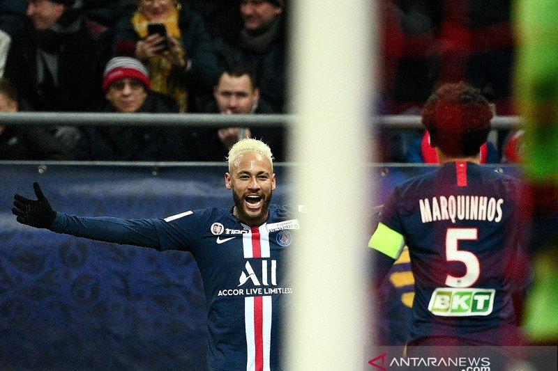 Gilas Reims 3-0,  PSG tantang Lyon di final Piala Liga Prancis