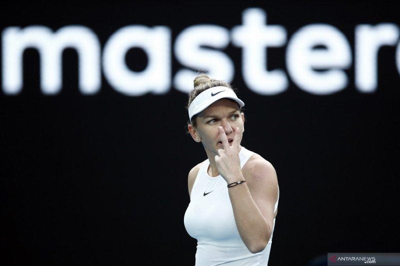 Petenis Simona Halep belum bisa beri kepastian mengenai US Open