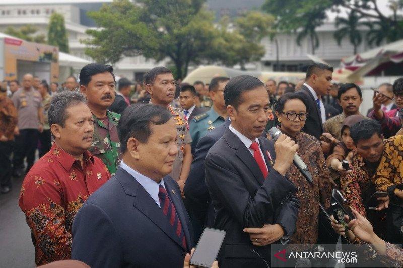 Presiden Jokowi tegaskan kedaulatan NKRI harga mati