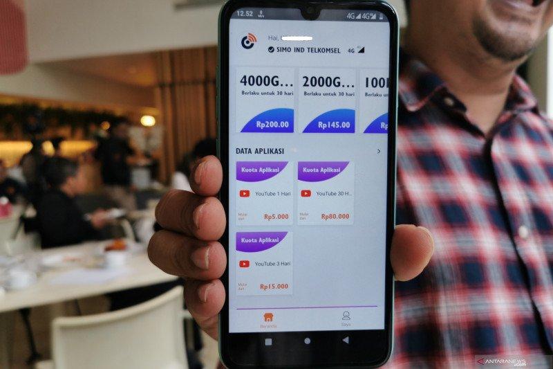 Harga Rp1 jutaan, ponsel Luna Simo bisa internet tanpa kartu sim