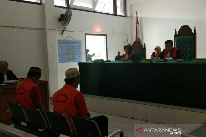 PN Palembang vonis seumur hidup kurir narkotika144 kilogram ganja