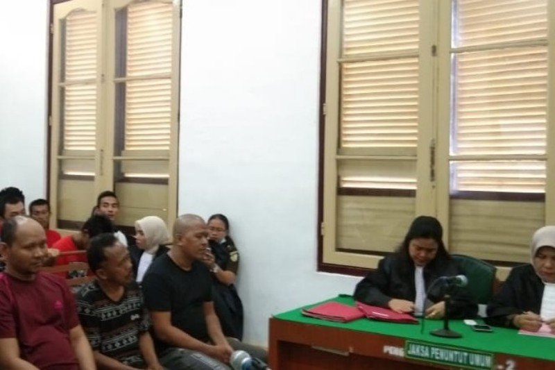 Lima kurir sabu-sabu 56 kg dihukum mati di PN Medan