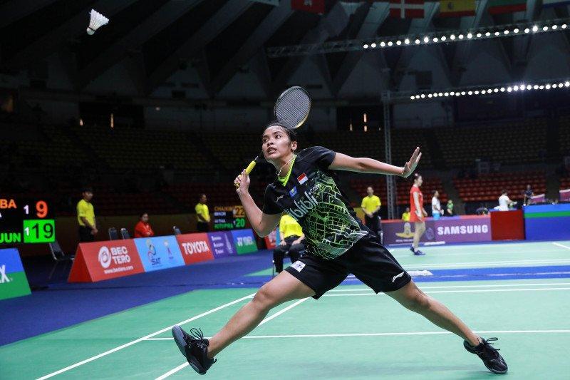 Gregoria melaju ke perempat final Thailand Masters