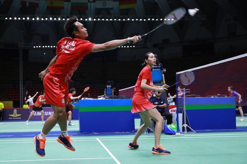 Hafiz/Gloria amankan tiket ke perempat final Thailand Masters 2020