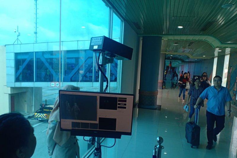 """Bandara SMB II pasang """"thermal scanner"""" deteksi  virus Corona"""