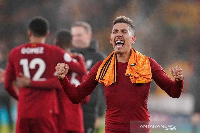Liverpool menjaga keunggulan 16 poin di puncak klasemen Liga Inggris
